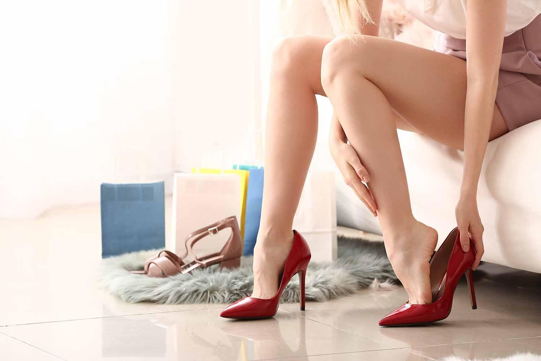 easiest heels to walk in