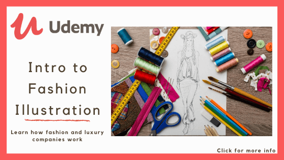 Online fashion design course - Udemy's Intro to Fashion Illustration Course