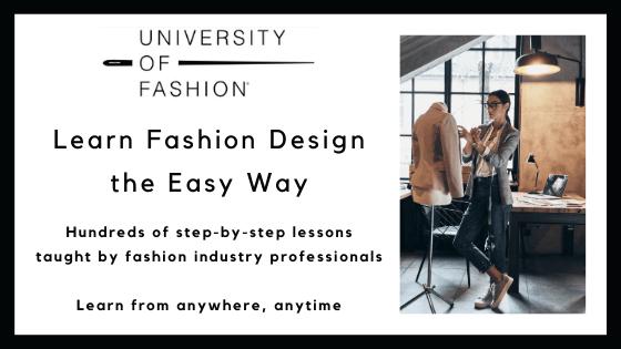 Online fashion design course - University of Fashion Certification