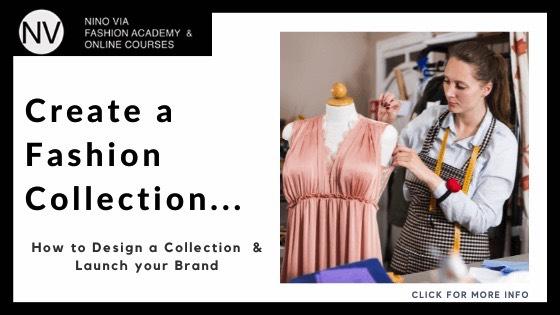 types of fashion design - study fashion design online - nino via fashion academy