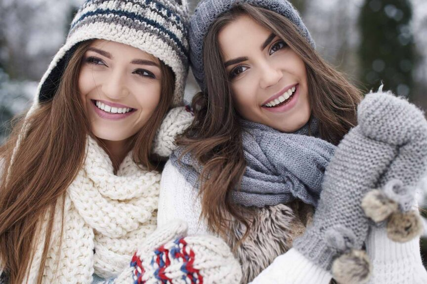 style a winter sweater