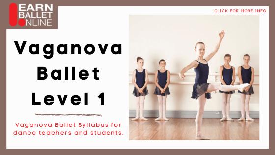 ballet course online - Learn about the Vaganova Ballet Technique