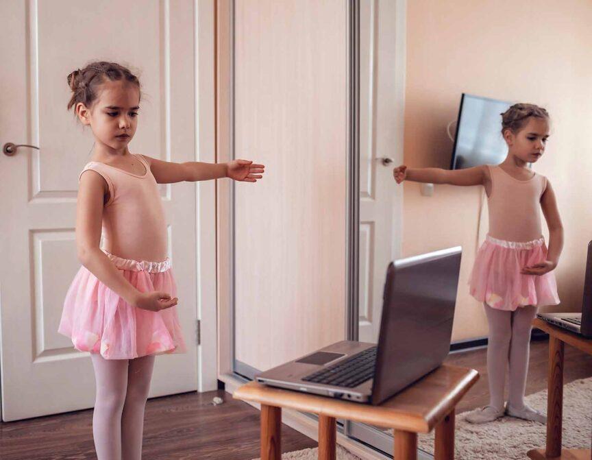 how to create an online dance class