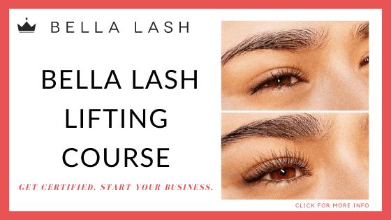 lash certified online course - Bella Lash Lift