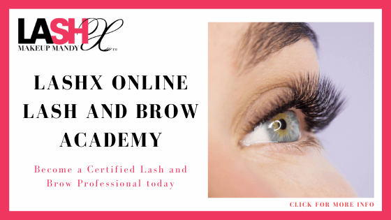 lash certified online course - LashX Online Brow and Lash Academy