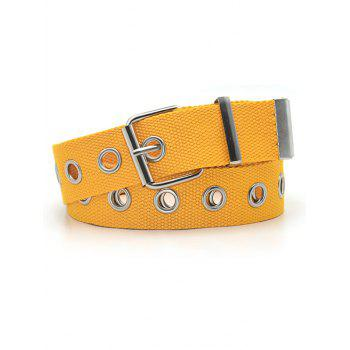 Canvas Grommet Pin Buckle Belt