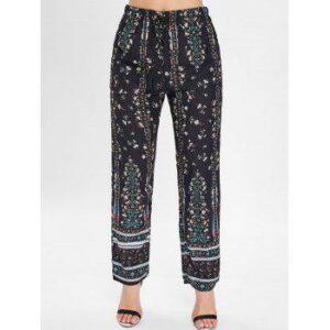 Floral Print Sleeping Pants