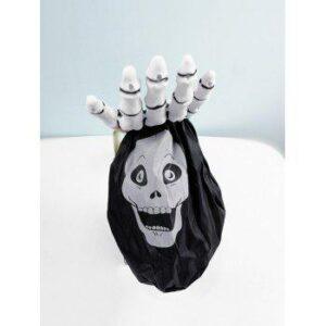 Halloween Skull Pattern Skeleton Shape Candy Bags
