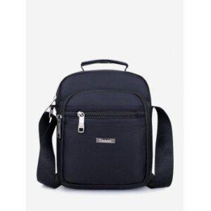 Letter Label Leisure Business Shoulder Bag