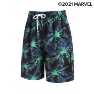 Marvel Spider-Man Tropical Print Beach Shorts