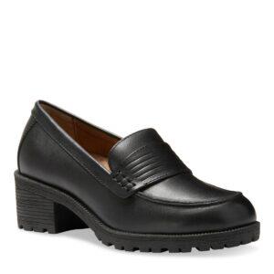 Eastland Women's Newbury Block Heel Loafers Women's Shoes