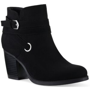 Style & Co Zolaa Block-Heel Booties, Created for Macy's Women's Shoes
